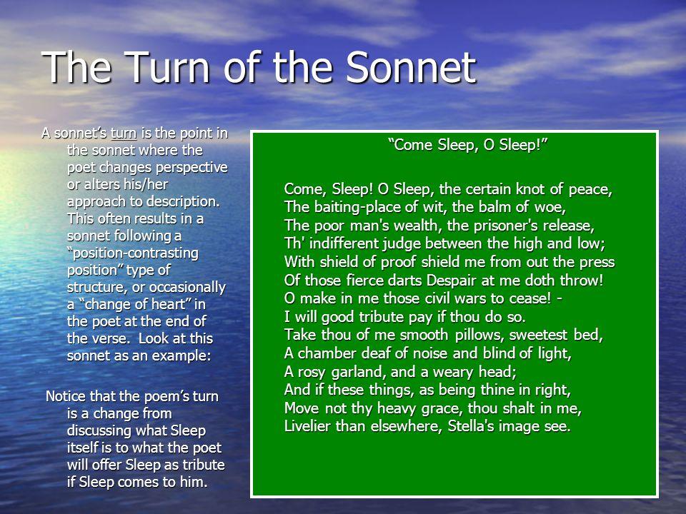 Italian Sonnet An Italian Sonnet is also called a Petrarchan Sonnet. An Italian Sonnet is also called a Petrarchan Sonnet. It includes an octave (eigh