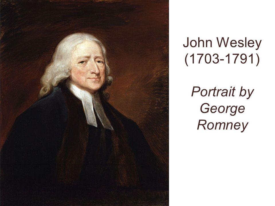 John Wesley (1703-1791) Portrait by George Romney