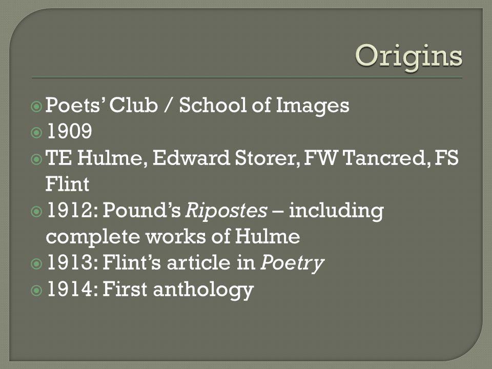  Origins  Aesthetic programme  Characteristics  Examples