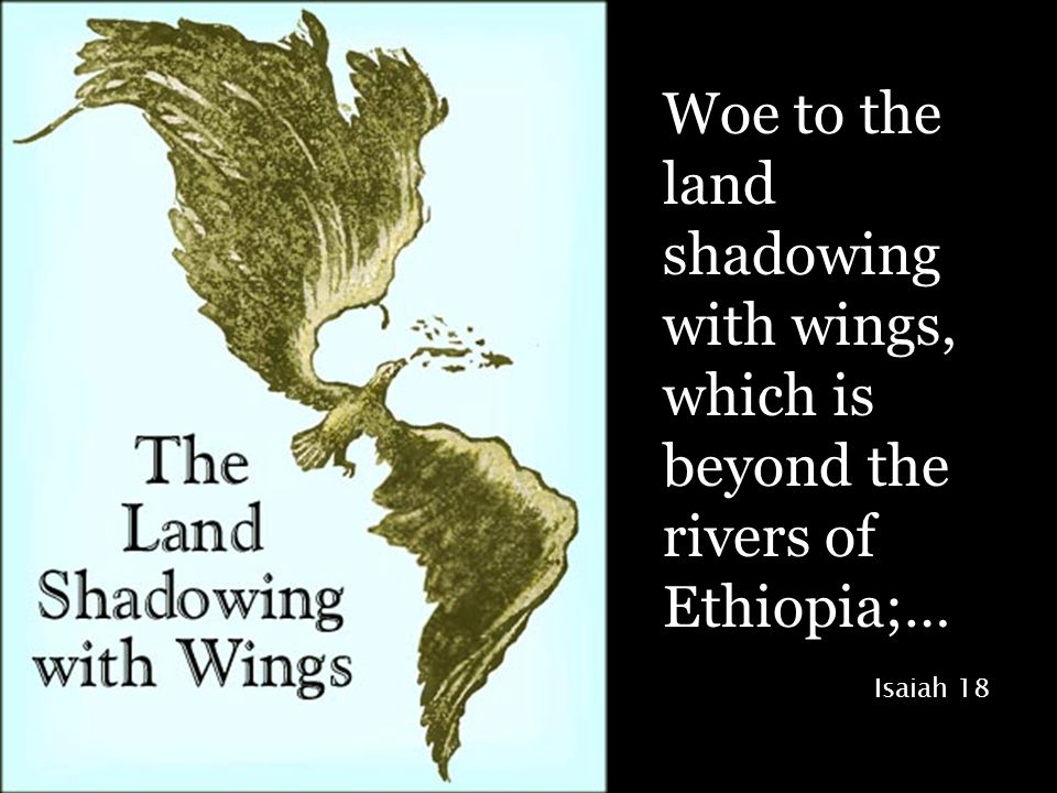 Woe to the land shadowing with wings, which is beyond the rivers of Ethiopia;… Isaiah 18