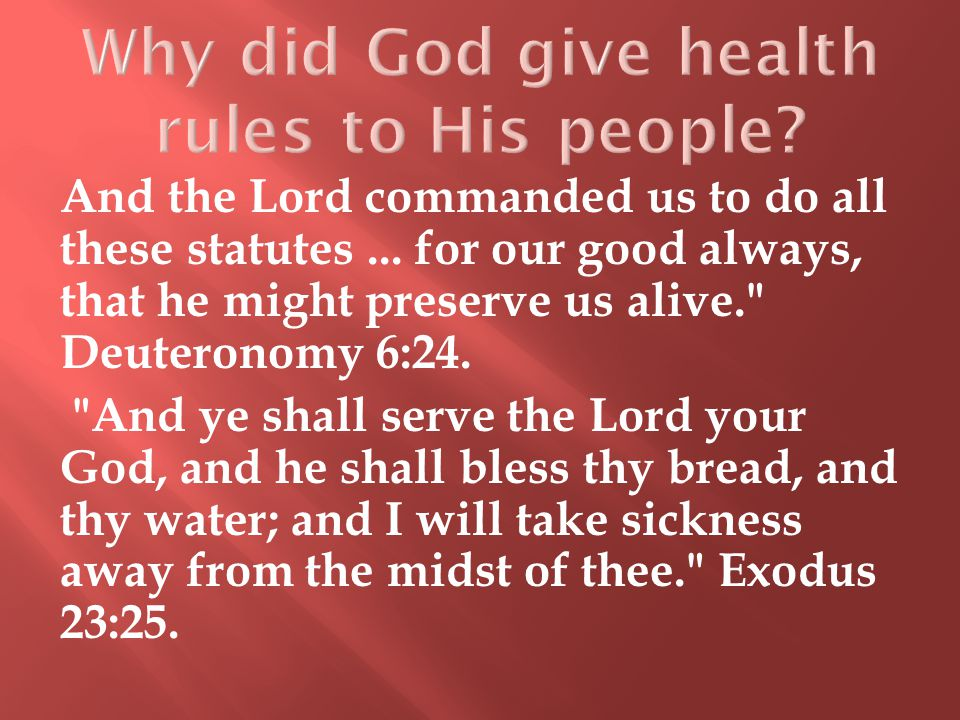 And the Lord commanded us to do all these statutes...