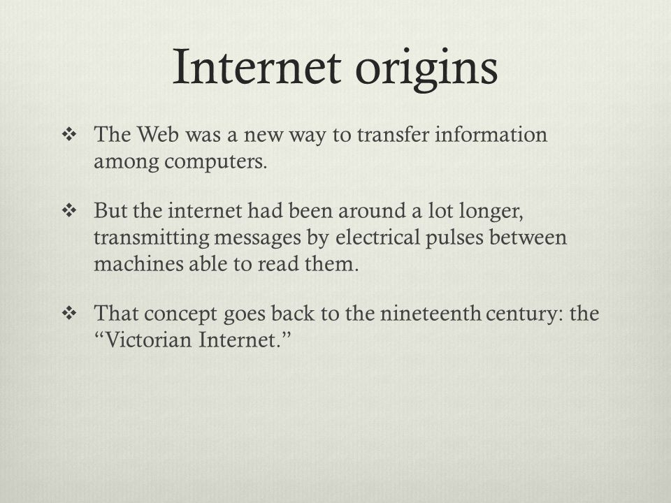 Internet origins  By 1971, 23 computers were linked to ARPAnet.