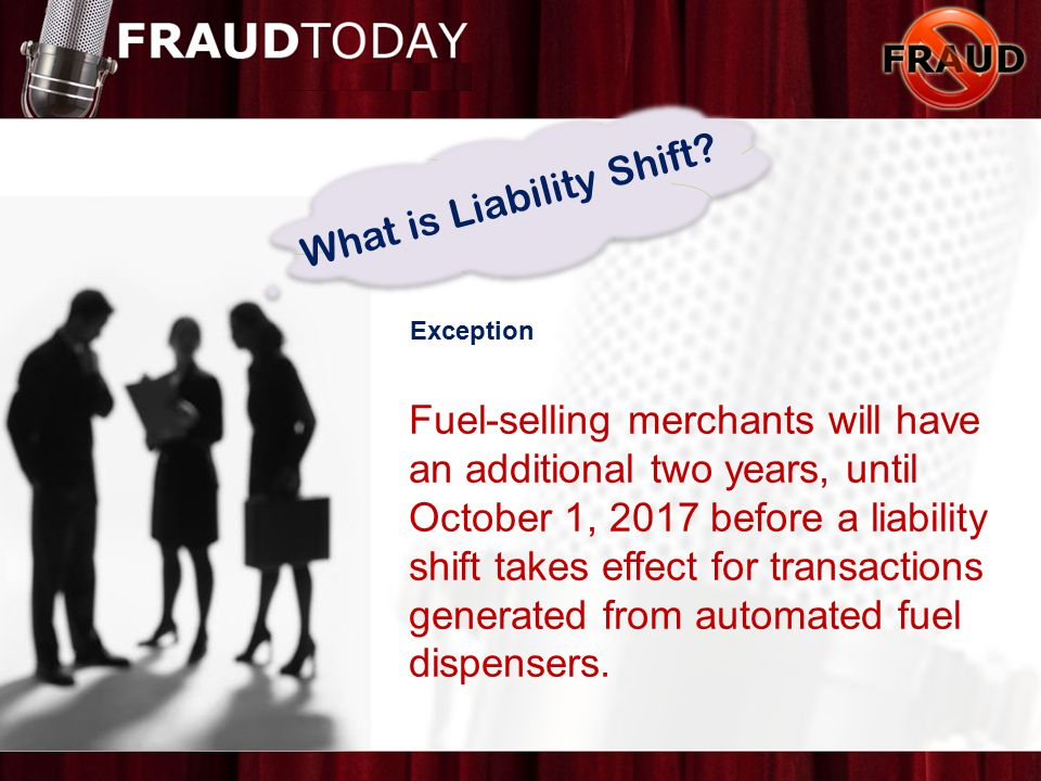 What is Liability Shift.