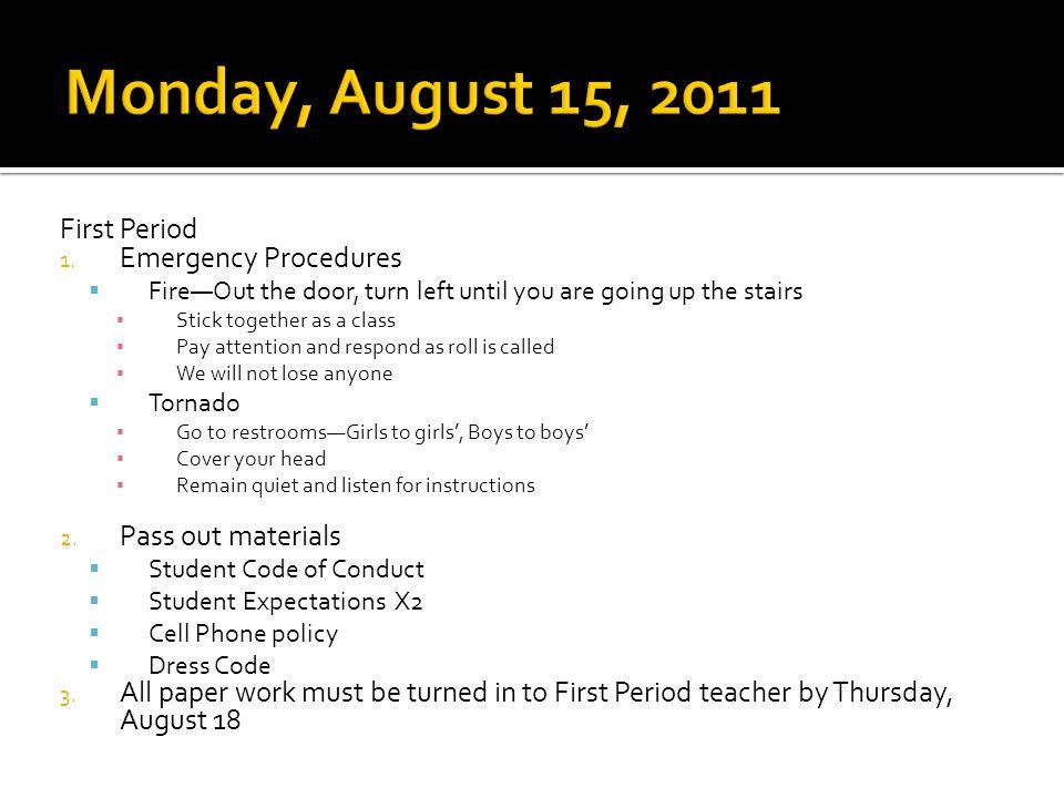 Second Period 1.