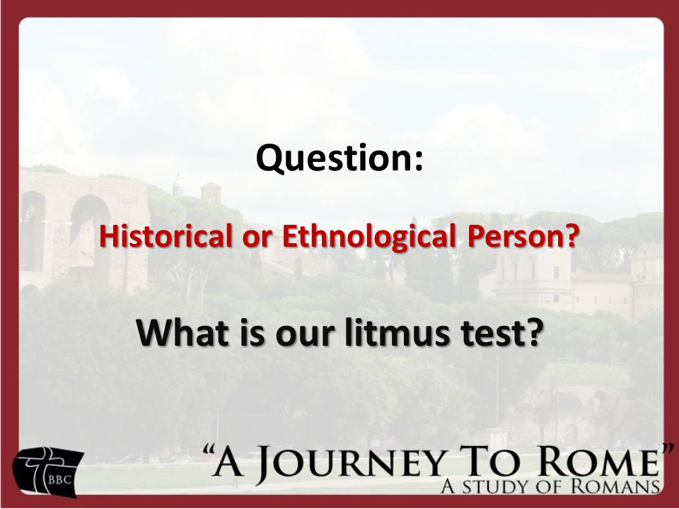 Question: Historical or Ethnological Person? What is our litmus test?