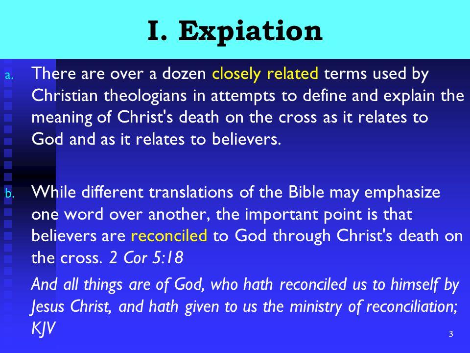 3 I. Expiation a.
