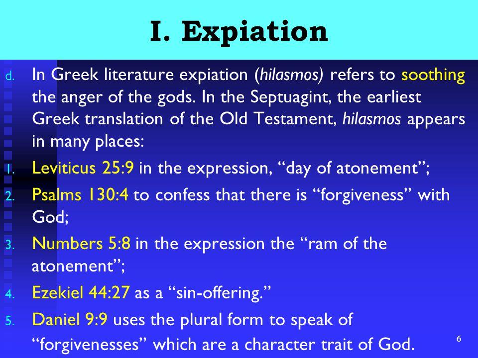 6 I. Expiation d.
