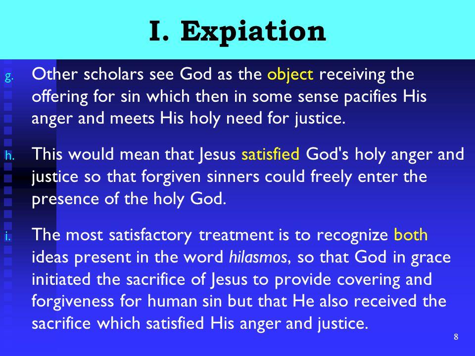 8 I. Expiation g.