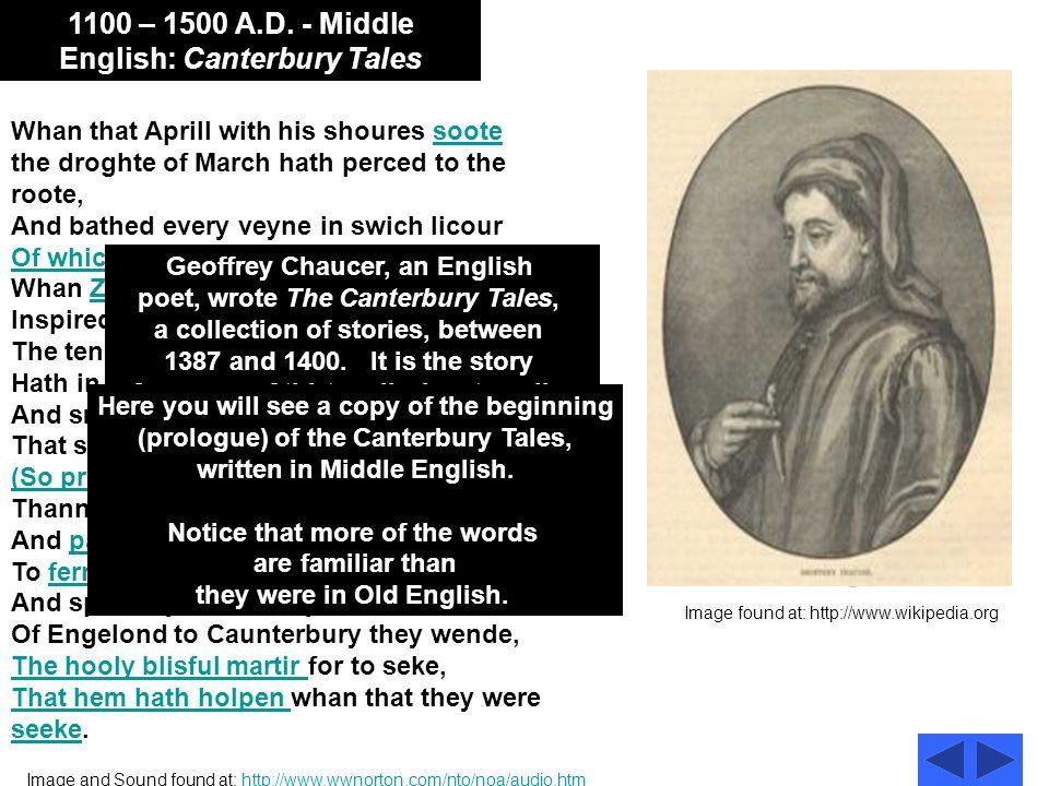 1100 – 1500 A.D.