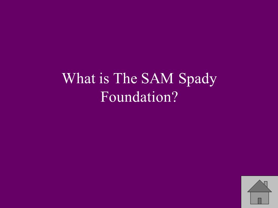 The foundation that is the international Philanthropy of Sigma Pi?
