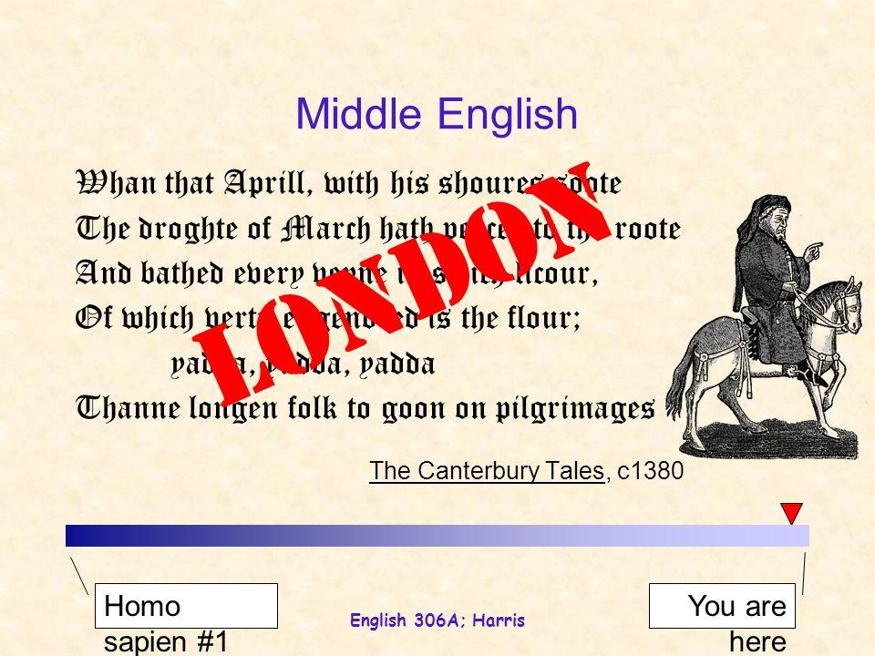 English 306A; Harris night knight knee name cough … [nIFt] [knIFt] [knij] [nQm´] [kAF] [nAit] [nij] [nejm] [kAf] Phonological change Middle EnglishModern English