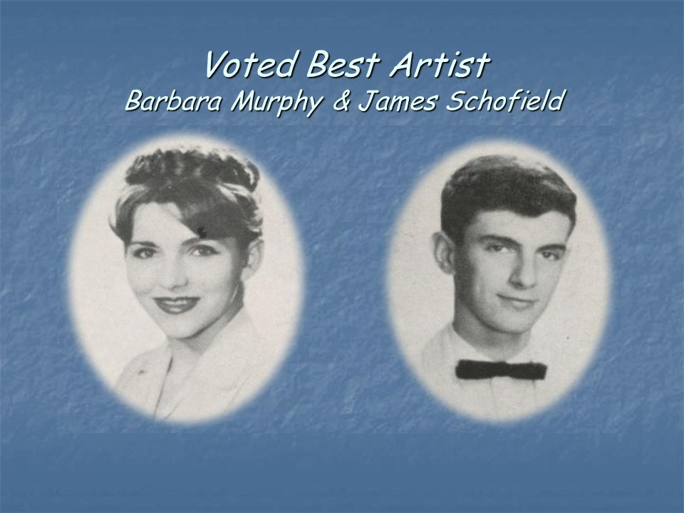 Voted Best Artist Barbara Murphy & James Schofield
