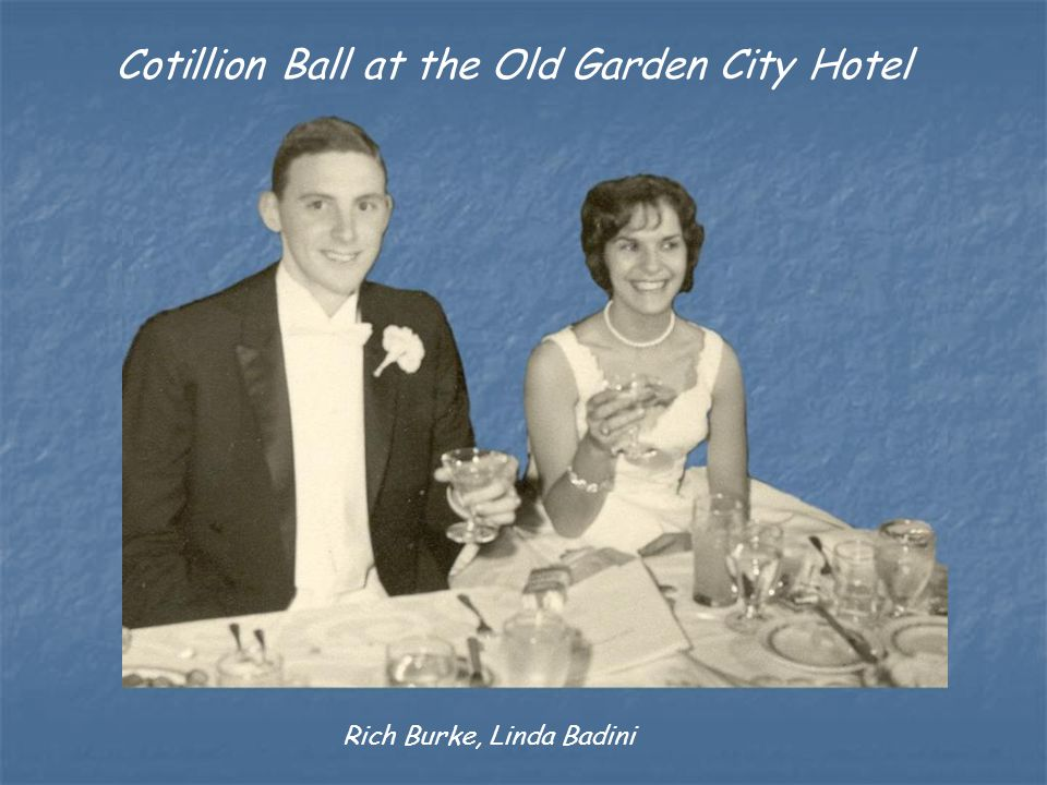 Cotillion Ball at the Old Garden City Hotel Rich Burke, Linda Badini