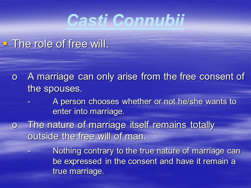 Casti Connubii  The role of legitimate authority.