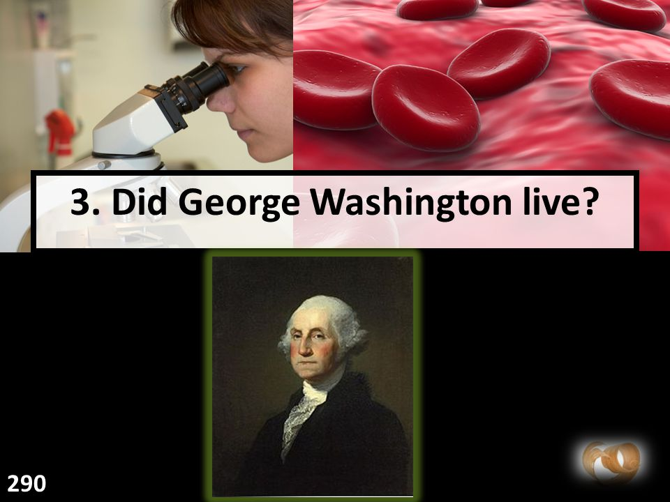 3. Did George Washington live? 290