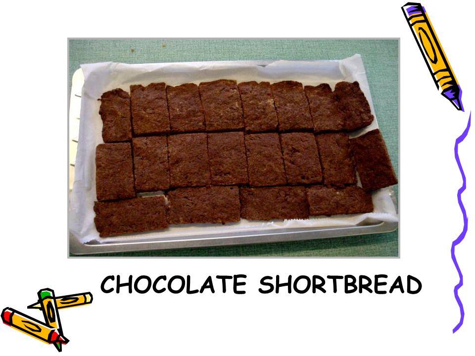 CHOCOLATE SHORTBREAD