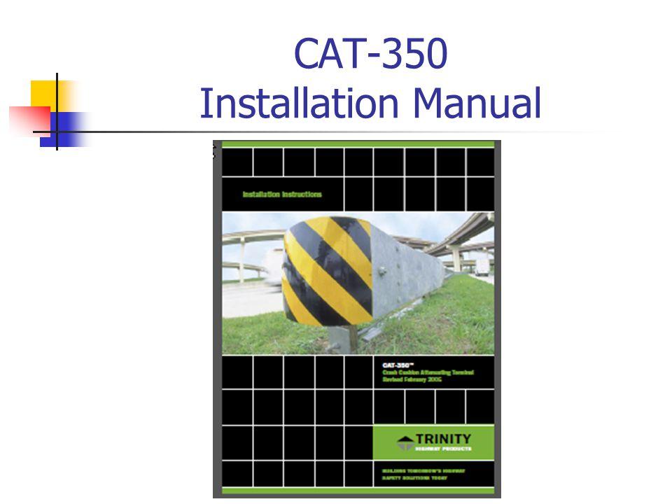 CAT-350 Installation Manual