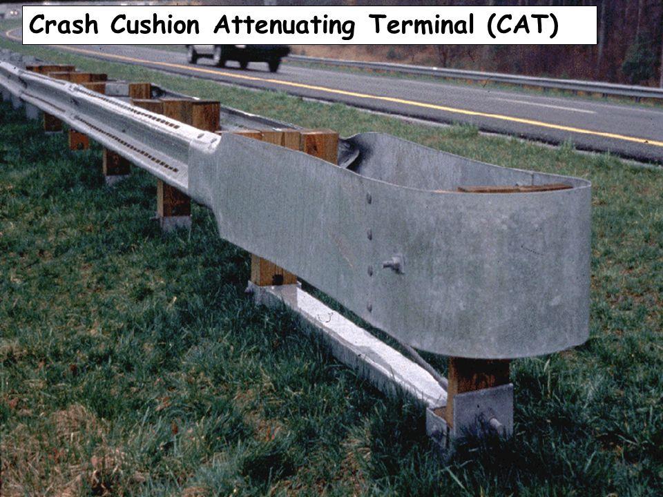 CAT Crash Cushion Attenuating Terminal (CAT)