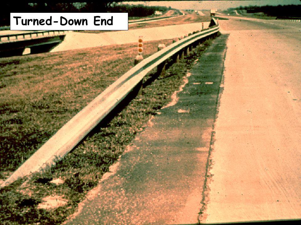 Texas Twist Turned-Down End