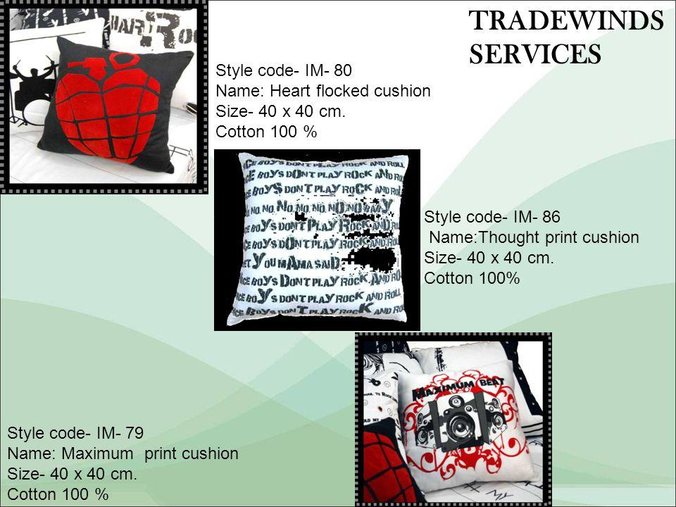 Style code- IM- 79 Name: Maximum print cushion Size- 40 x 40 cm.