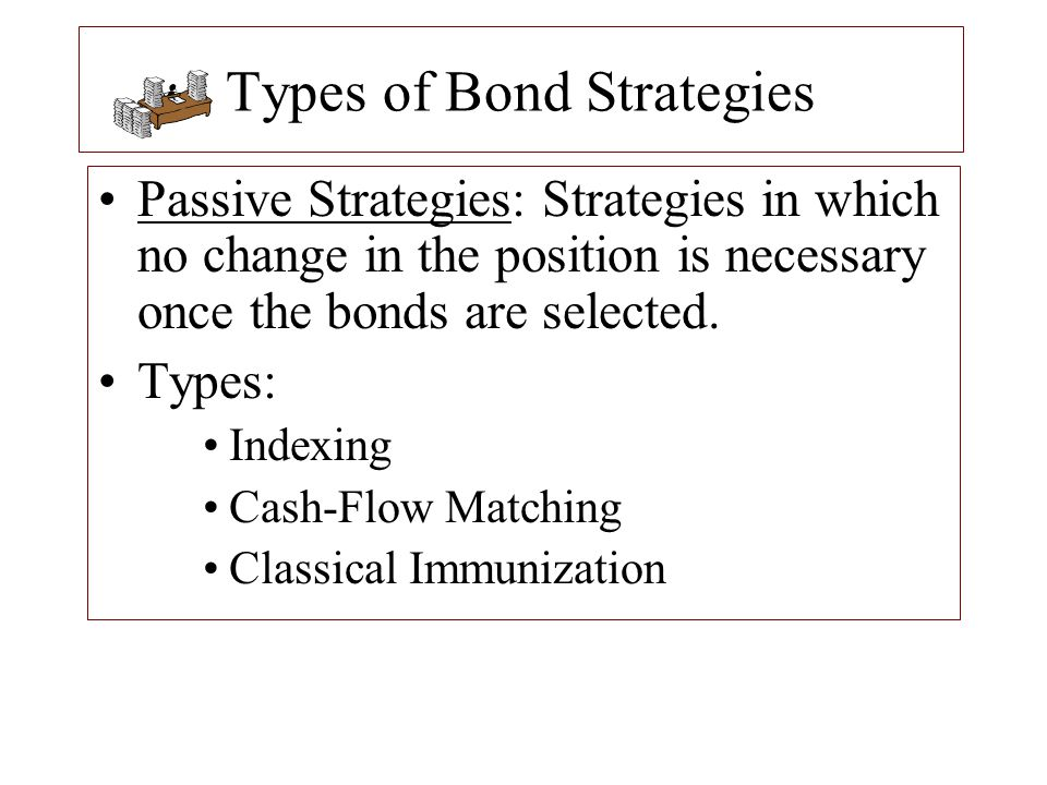 Bond Immunization: Barbell Strategy In a barbell strategy, the duration of the liability is matched with a bond portfolio with durations more at the extremes.