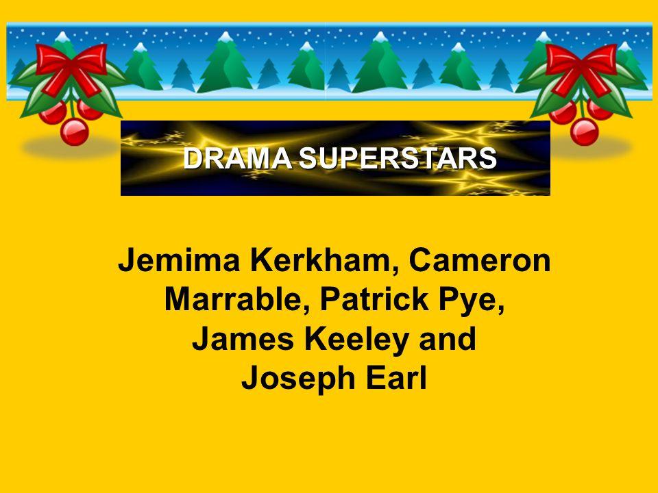 Jemima Kerkham, Cameron Marrable, Patrick Pye, James Keeley and Joseph Earl DRAMA SUPERSTARS