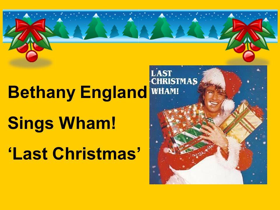 Bethany England Sings Wham! 'Last Christmas'