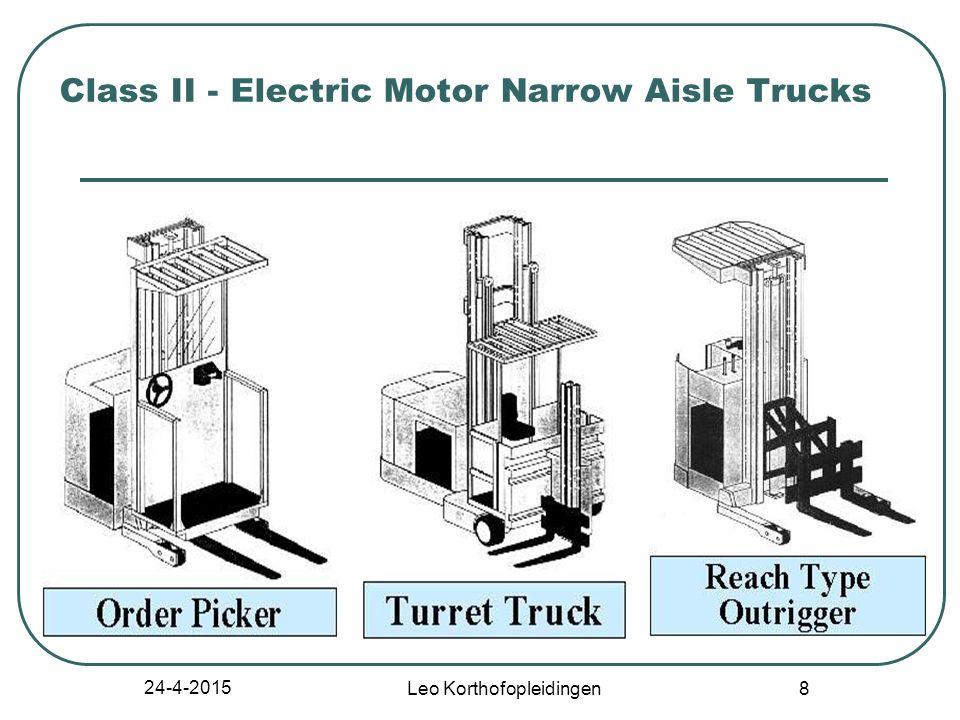 24-4-2015 Leo Korthofopleidingen 8 Class II - Electric Motor Narrow Aisle Trucks