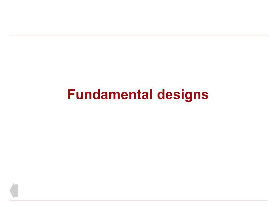 Fundamental designs