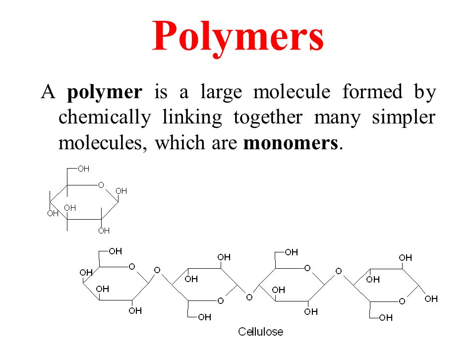 Welcome to GCC Chemistry Day Polymers