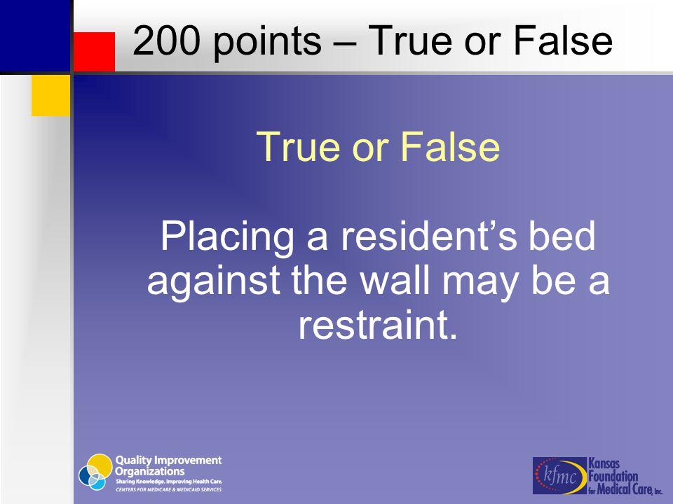 TRUE 200 points