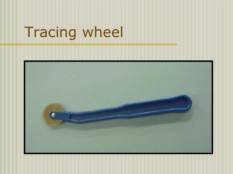 Tracing wheel
