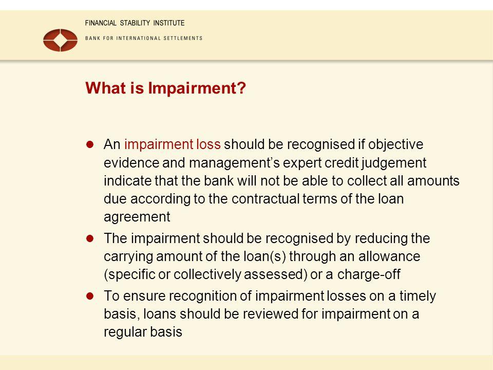 What is Impairment.