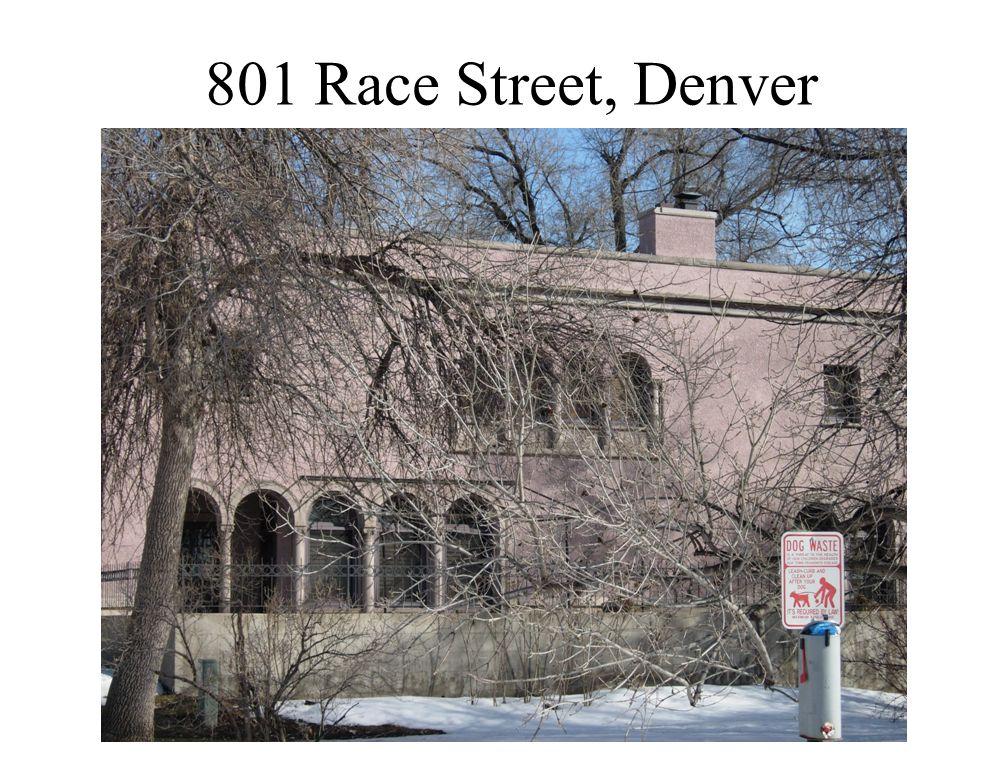 801 Race Street, Denver