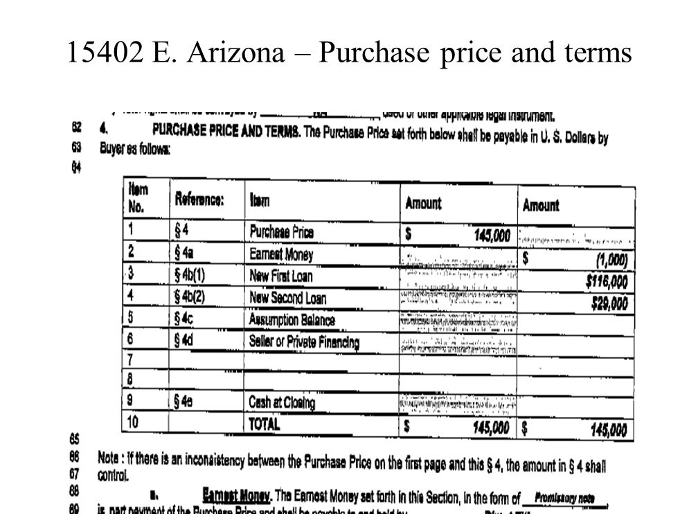 15402 E. Arizona - Contract