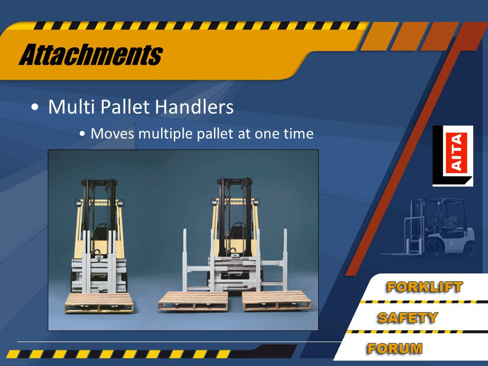 Attachments Multi Pallet Handlers Moves multiple pallet at one time