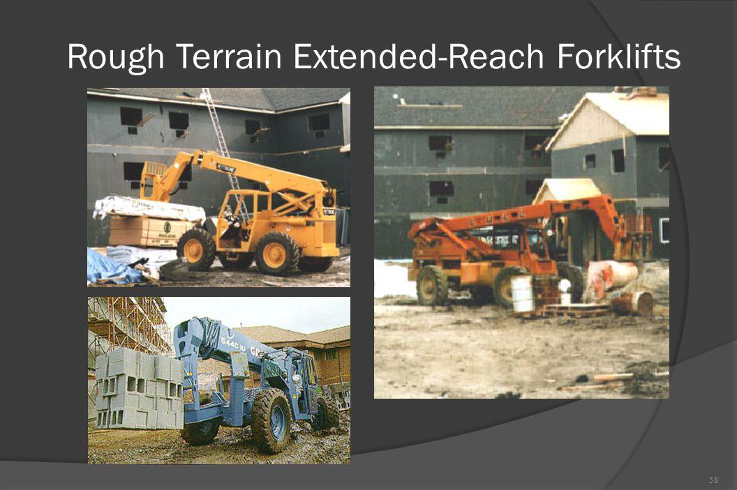 Rough Terrain Extended-Reach Forklifts 58