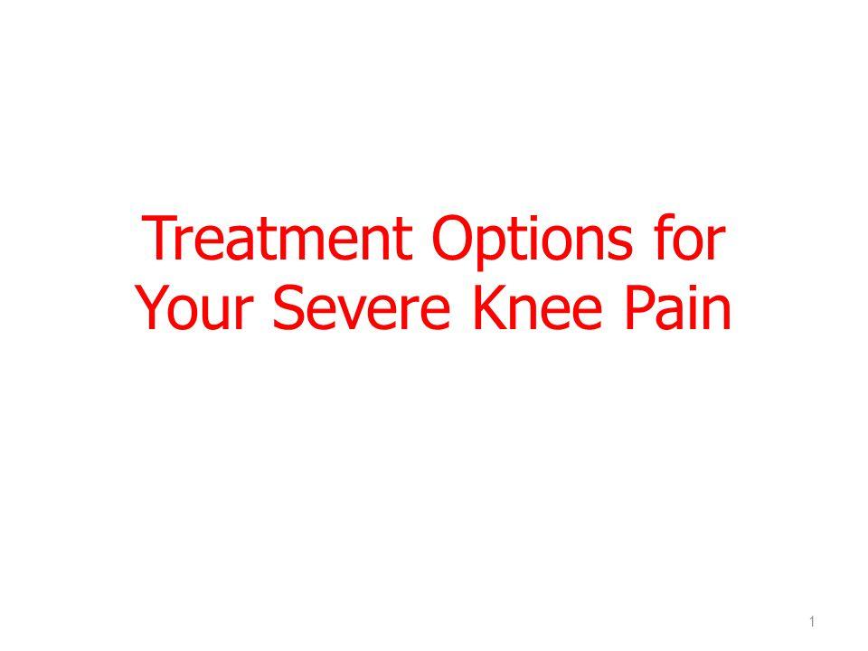 Healthy kneeKnee replacement How does it work?