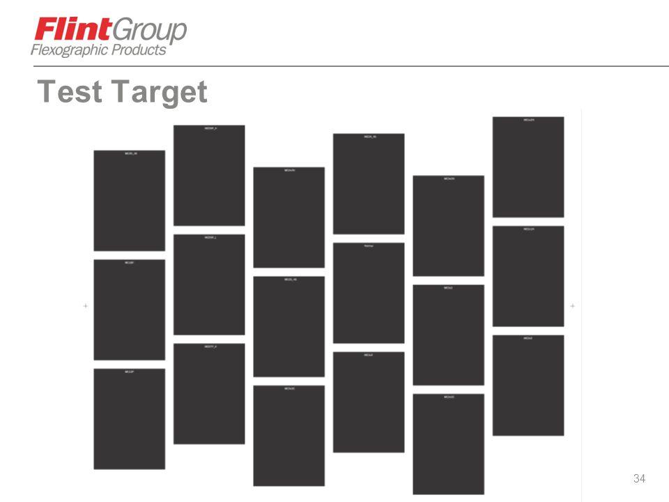 34 Test Target