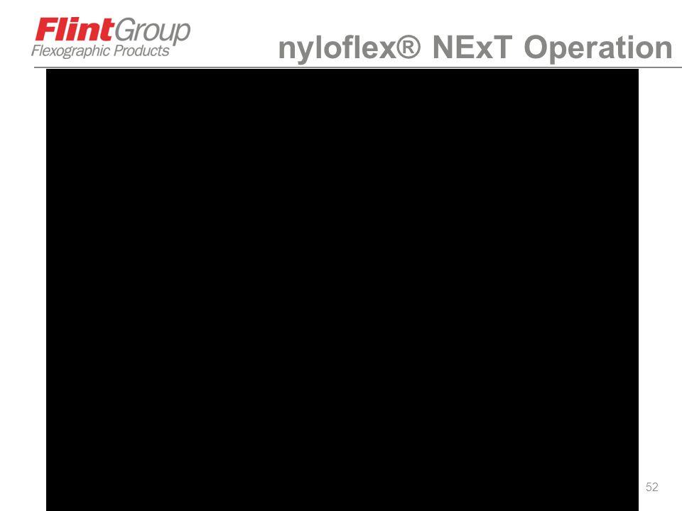 52 nyloflex® NExT Operation