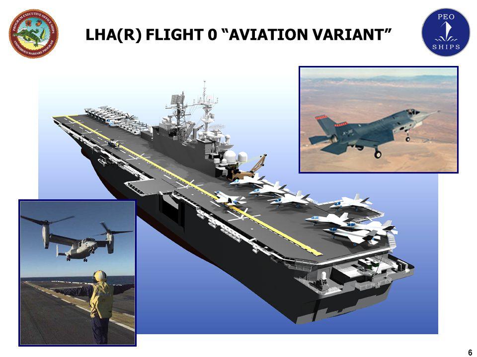 6 LHA(R) FLIGHT 0 AVIATION VARIANT