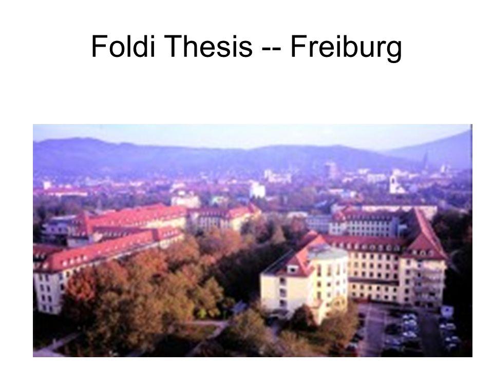 Foldi Thesis -- Freiburg