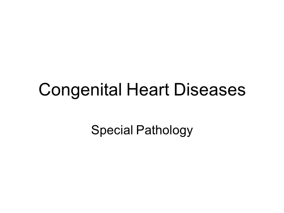 Congenital heart diseases abnormalities of the heart or great vessels that are present at birth –faulty embryogenesis during gestational weeks 3 through 8 –major cardiovascular structures develop.