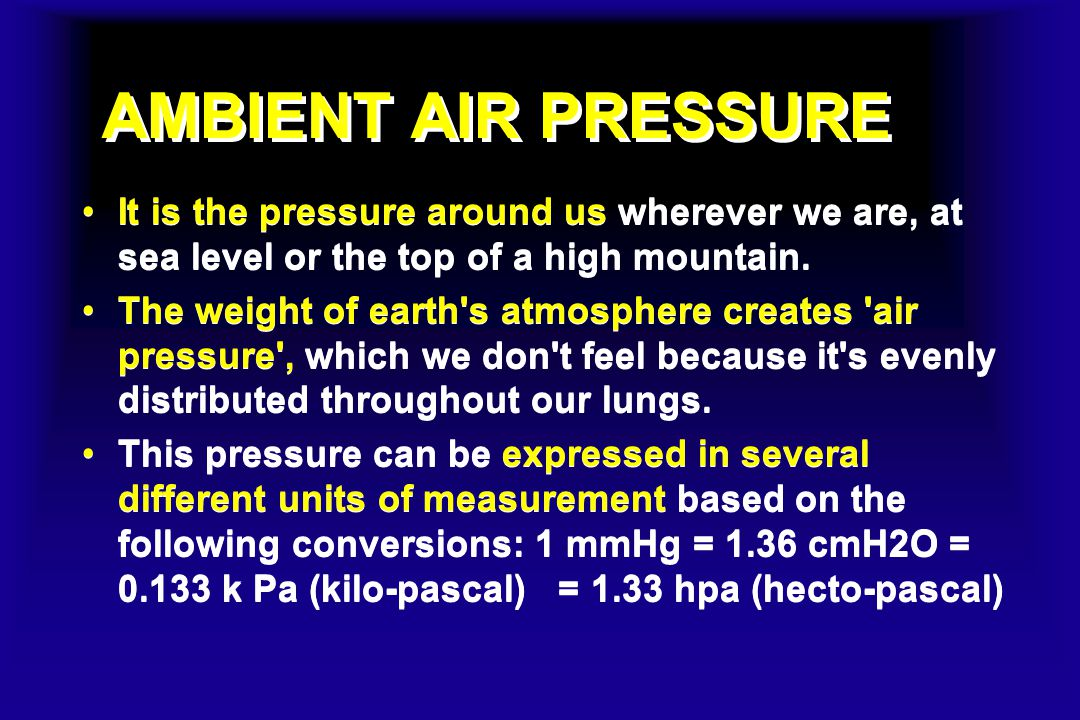 In this figure, blue is mercury, and the distance from B to A is the barometric or air pressure.