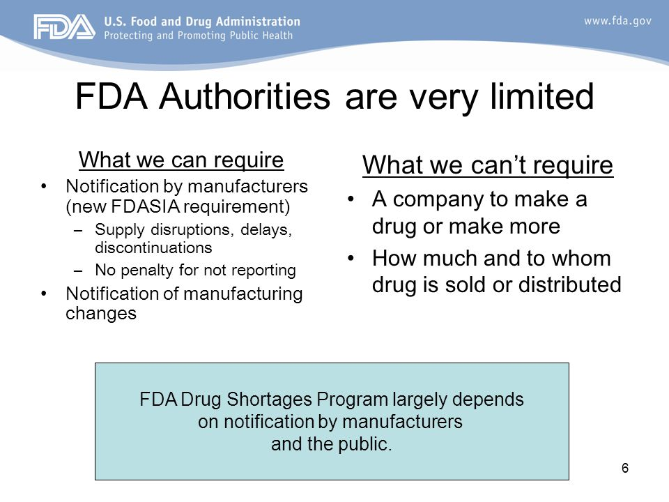 7 Most shortages do get resolved.