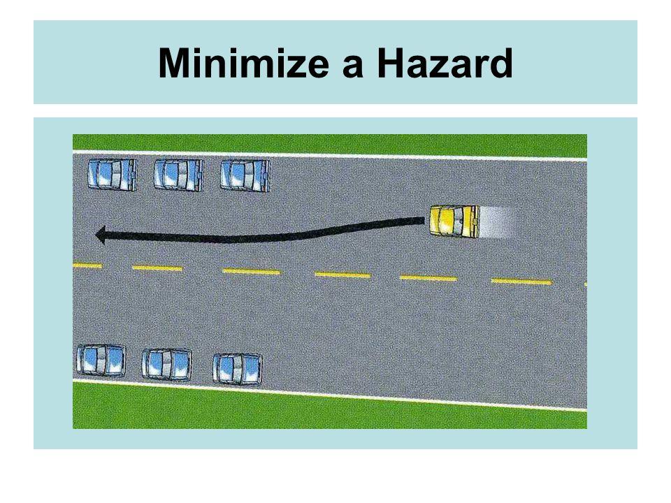 Minimize a Hazard