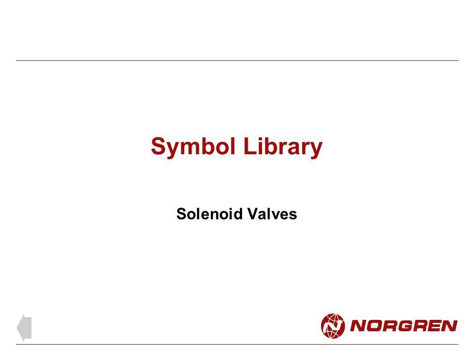 Symbol Library Solenoid Valves