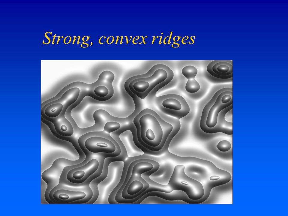 Strong, convex ridges