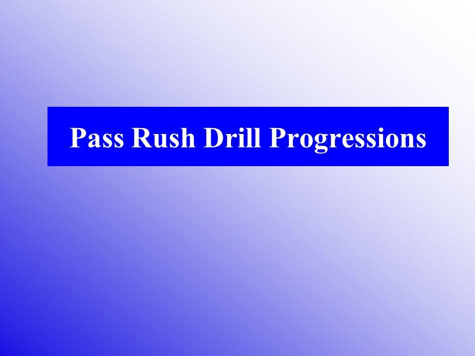 Pass Rush Drill Progressions
