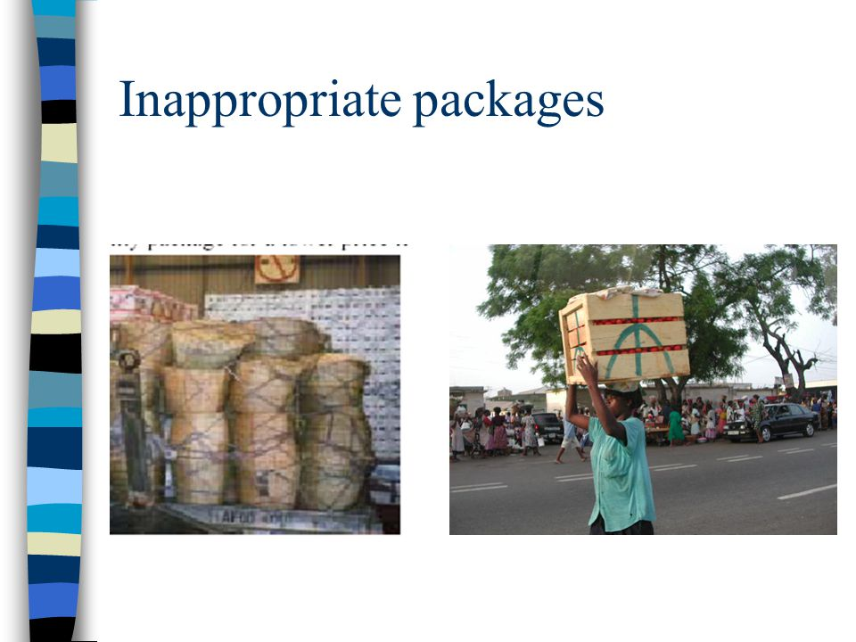 Inappropriate packages